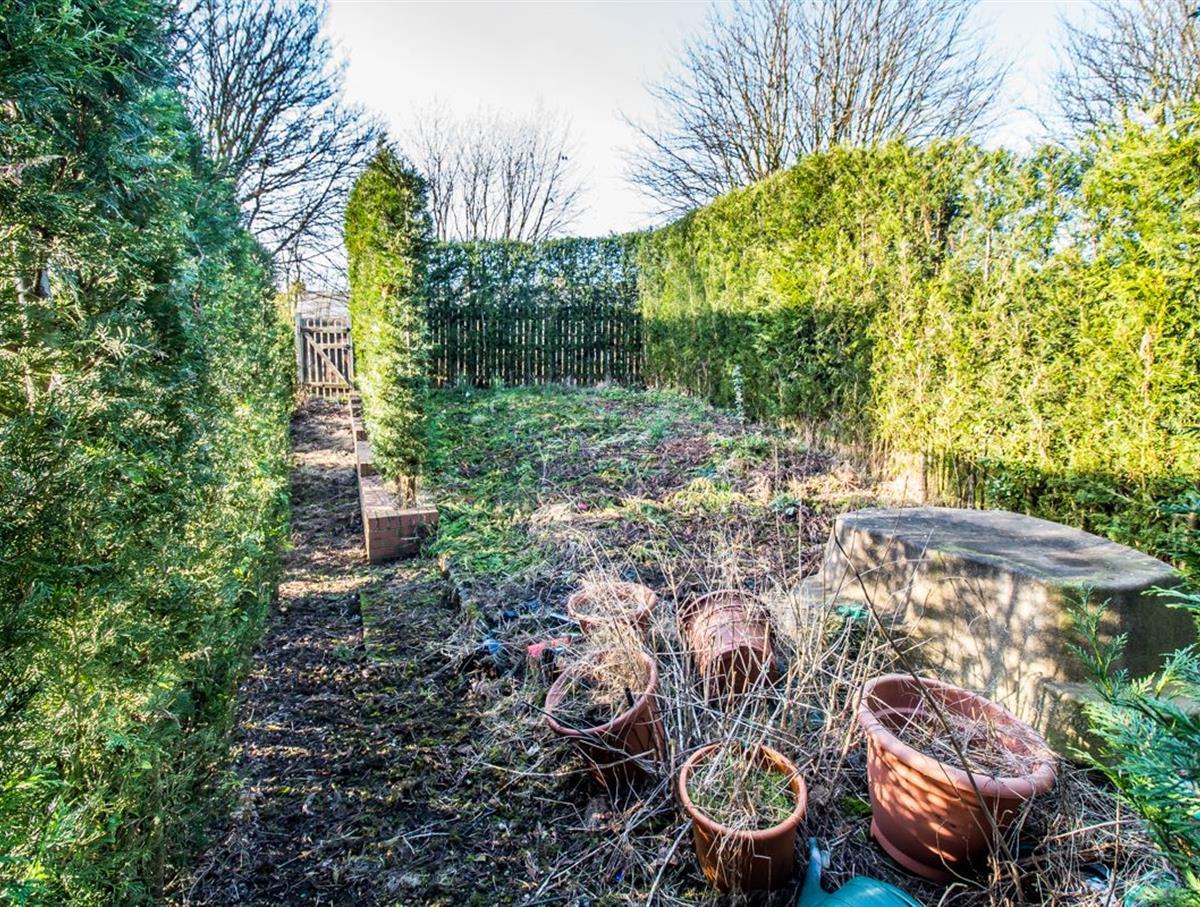 Extra Garden to Rear